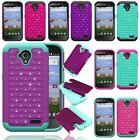 ZTE Stratos LTE Z819C / Allstar Z818L Hybrid Hard Diamond Case Skin Phone Cover