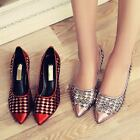 Elegant Women Shoes Hollow Out High Heel Sandals Pointy Toe Mesh Slip On Pumps