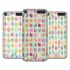 HEAD CASE DESIGNS DODDLE FOGLIOSI COVER RETRO RIGIDA PER APPLE iPOD TOUCH 5G 6G