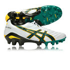 Asics Lethal Glory Mens White Green Football Rugby Boots Shoes Trainers Pumps