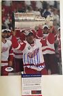 Chris Chelios Autographed Detroit Red Wings 8x10 Hockey Photo PSA/DNA COA