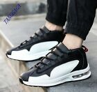 Fashion Mens Damping Sport Athletic Lace Up Sneakers Running Comfort Flats Shoes