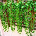 12x Home Decor Fake Foliage Flower 7.5ft Artificial Ivy Leaf Garland Plants Vine