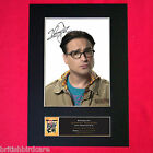 JOHNNY GALECKI Autograph Mounted Photo REPRO QUALITY PRINT A4 346