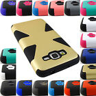 FOR SAMSUNG GALAXY PHONES HYBRID DUAL LAYER CASE COVER ACCESSORY+STYLUS/PEN