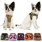 New Pet Dog Soft Mesh Harness Fabric Adjustable Style Size S M L XL US Shipping