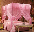 Luxury Lace Princess 4 Corner Post Bed Canopy Mosquito Or Frame(Post) All Sizes