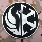 STAR WARS The Jedi Order Insignia and Imperial Logo 3D PVC Patch