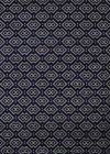 Radici Navy Dots Boxes Blocks Diamond Contemporary Area Rug Geometric 6690