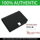 [OMNIA] Crystal MEN'S  GENUINE LEATHER Business Card case MW627E