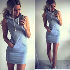 Fashion Boho Sexy Womens Sleeveless Evening Summer Beach Short Mini Dress