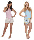 Forever Dreaming Ladies Jersey Shorts & Vest Pyjama Set