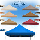 Replacement Canopy for 10'x10' Ez POP UP Tent Instant Gazebo Polyester Cover