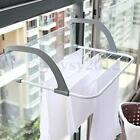 Clothes Towel Shoes Window Home Hanging Organizer Storage Rail Rack Shelf S/L
