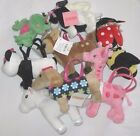 Gymboree Purse NEW Many lines Stuffed Plush Toy Faux Fur Girls Bags Backpack