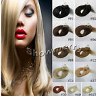 New Women Remy Straight Loop Micro Rings Beads Tipped Human Hair Extensions USA