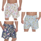 Cargo Bay Mens Floral Print Swim Shorts