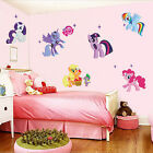 Low My Little Pony Removable Wall Stickers Decals Kids Nursery Decor Art Mural