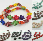 100pcs Wholesale Lot Howlite Turquoise Tortoise Loose Beads DIY Jewelry Findings