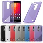 Flexible Soft TPU Gel S Line Shape Silicone Rubber Case Cover Skin for LG Phones