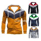 Stylish Men's Spring Slim Cotton Sexy Top Hoodies Coats Jackets Outwear M-XXL