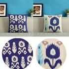 Square Zippered Flower Throw Pillow Case Bed Sofa Pack Cushion Cover Home Decor