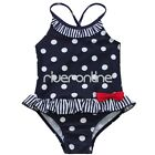 Toddler Girls One Piece Polka Dot Bikini Swimwear Ruffle Skirt Tankini Swimsuit