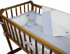 Wendy Anne Pique Gingham Cradle Bedding Set