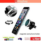 Magnetic Air Vent Car Mount Holder for iPhone 6/6s, 6/6s Plus, 5s/5c, Samsung