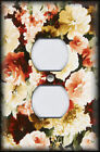 Metal Light Switch Plate Cover Beautiful Painted Roses Home Decor Rose Art Decor