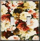 Floral Home Decor - Light Switch Plate Cover - Traditional Roses - Flowers