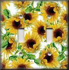 Floral Home Decor - Light Switch Plate Cover - Summer Sunflowers - Flowers