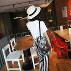 Candy Color Women's Casual Transparent Shoulder Backpack Bag Handbag Tote Bag