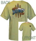 1-SURF WITH CREST SURFER BOARD HAWAII VACATION WEAR GEAR GRAPHIC PRINTED T-SHIRT