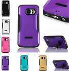 For Samsung Phones High Quality Kickstand Case Rubber & Plastic Shockproof Cover