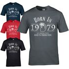 Born in 1978 T-Shirt - 40th Year Birthday Age Present Beer Funny Aged Mens Gift