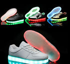 New Kids LED Light Lace Up Unisex Sportswear Sneaker kids Luminous Casual Shoes