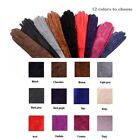 custom made 30cm to 80cm long suede leather evening/elbow opera long gloves
