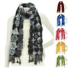 Layers by Lizden Bubble Wrap Scarf with Fringe A222025