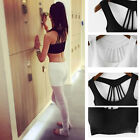Womens Padded Sports Bra Top Vest Gym Fitness Yoga Athletic Running Jogging