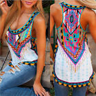 New Womens Summer Vest Top Sleeveless Shirt Blouse Casual Tank Tops T-Shirt