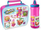 OFFICIAL SHOPKINS INSULATED LUNCH BAG, BOTTLE / SET SCHOOL KIDS GIFT GIRLS