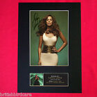 LEONA LEWIS Mounted Signed Photo Reproduction Autograph Print A4 241
