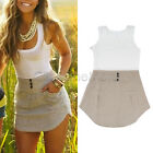MON - Summer Women Celeb Sexy Mini Playsuit Lady Jumpsuit Shorts Beech Sun Dress