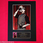 MARILYN MANSON Mounted Signed Photo Reproduction Autograph Print A4 163