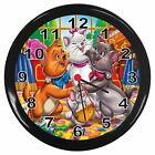 THE ARISTOCATS ROOM DECOR WALL CLOCK NEW