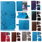 For Samsung Vintage Case Cash Card Holder Anti-Shock Flip PU Leather Stand Cover