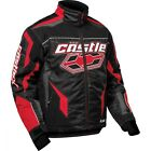 Castle X Blade G2 Red Snowmobile Jacket  Mens sizes M-3XL Yamaha/Polaris red