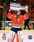 Corey Crawford Chicago Blackhawks 2015 Stanley Cup Trophy Photo SB140
