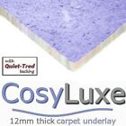 CosyLuxe 12mm thick carpet underlay soft quiet and luxurious at cheapest prices